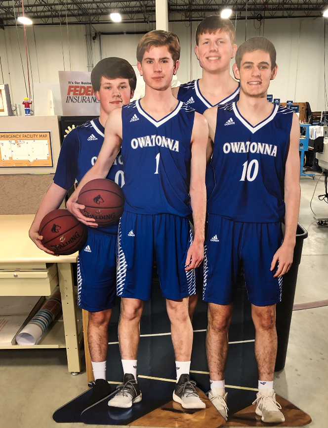 large format printing life size cut outs