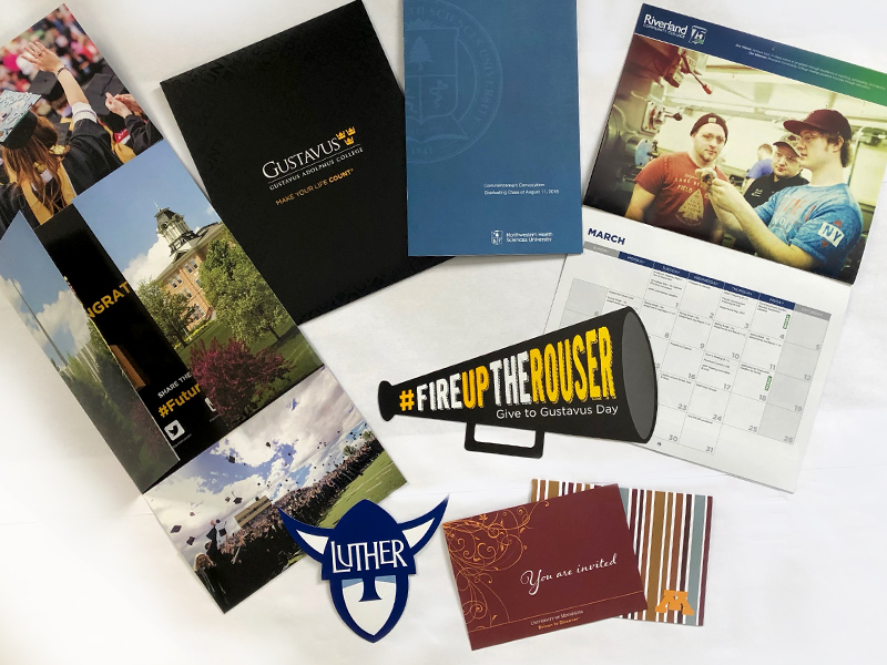 professional brochure printing for higher education printed items